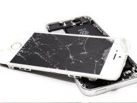 pokazený mobil